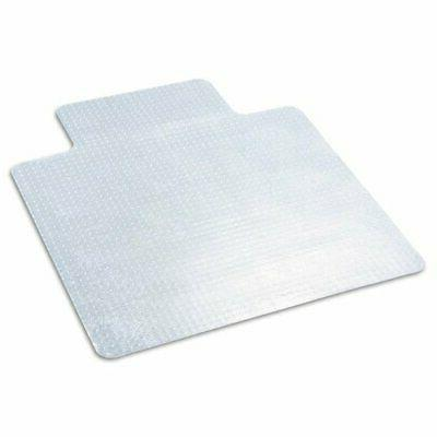 * EconoMat Chair Mat for Low Pile Carpet, 45w x 53h, Clear