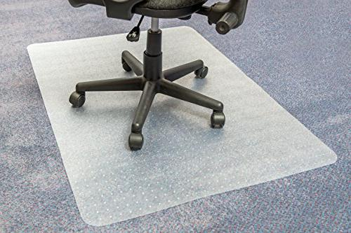 "Ecotex Enhanced Polymer Chair Mat for to Thick, x 51"","