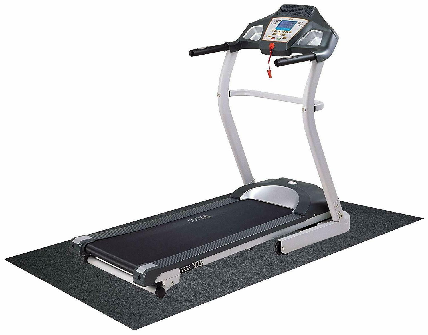 Exercise Floor Mat With Anti Black