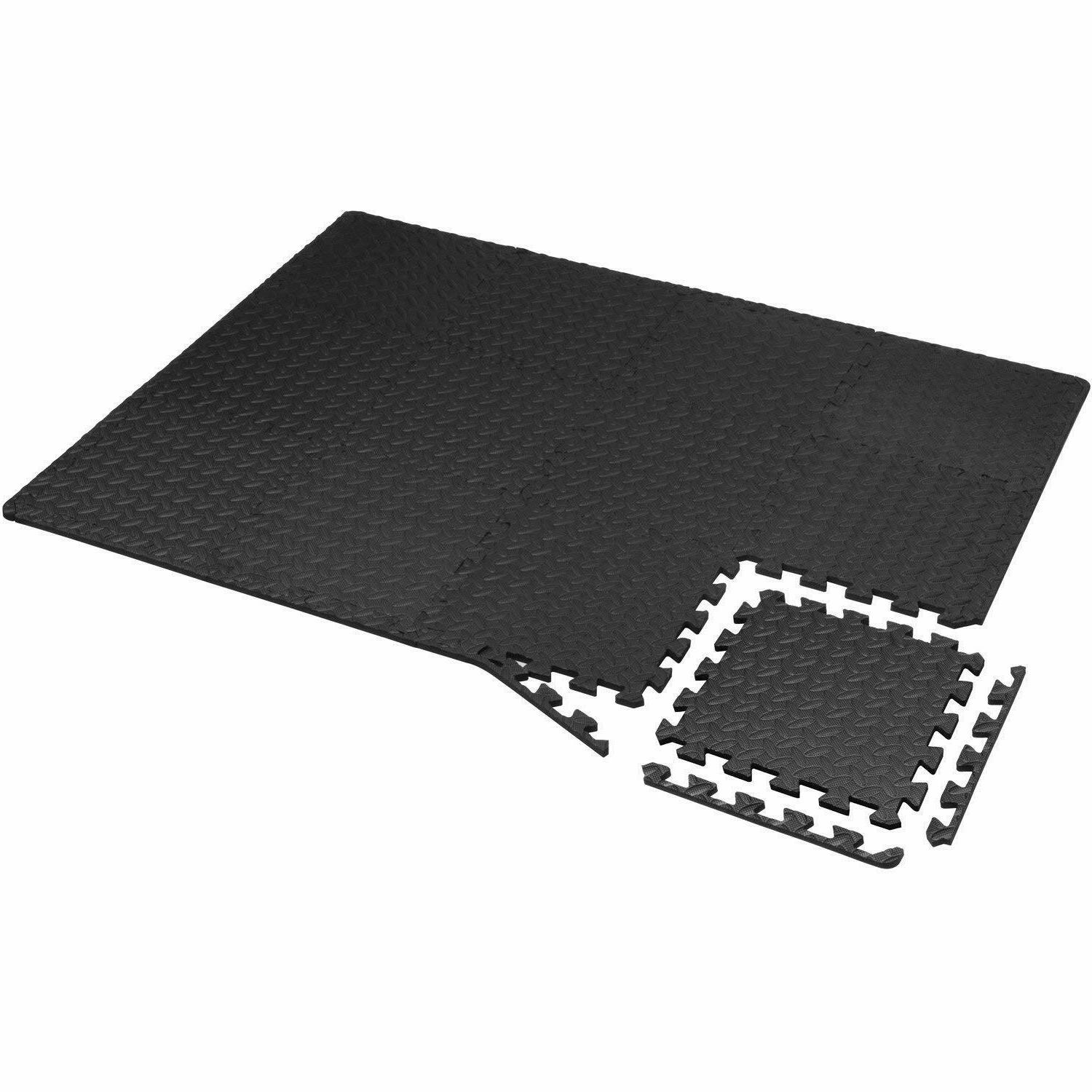 Exercise Floor Mat Puzzle Rug Gym SF Workout Equipment Weight Lifting