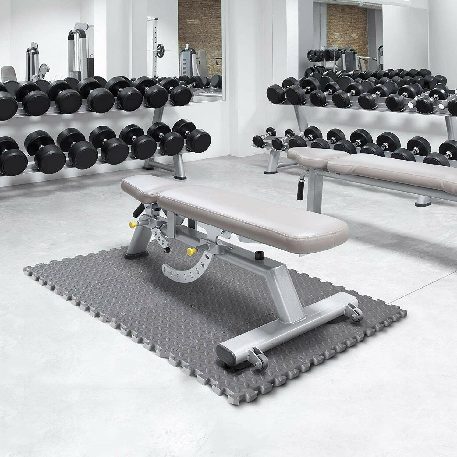 Exercise Floor Puzzle Gym SF Lifting