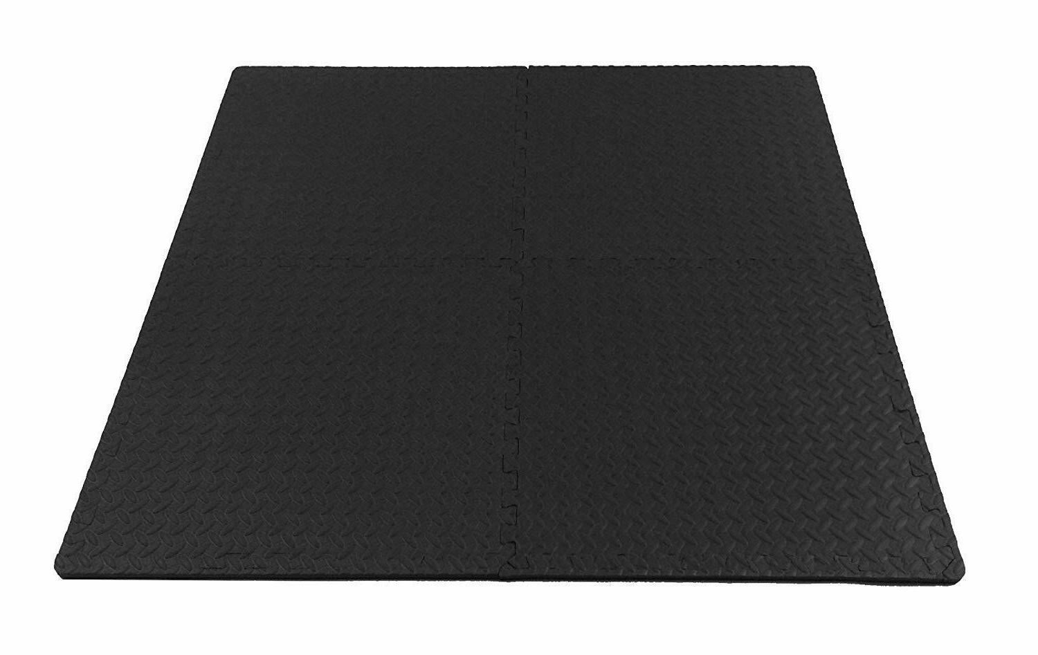 Exercise Floor RUBBER Home Fitness