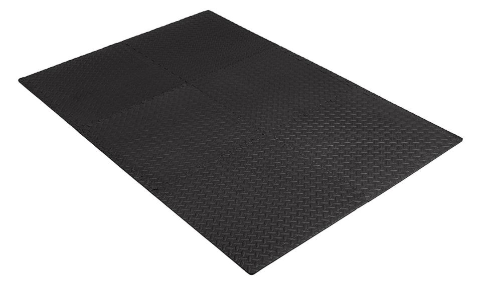 Exercise Mat with Foam Interlocking Gym x 24""