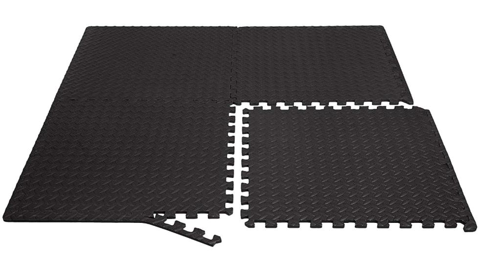 Exercise Mat Foam Interlocking Tiles Workout Gym Fitness x