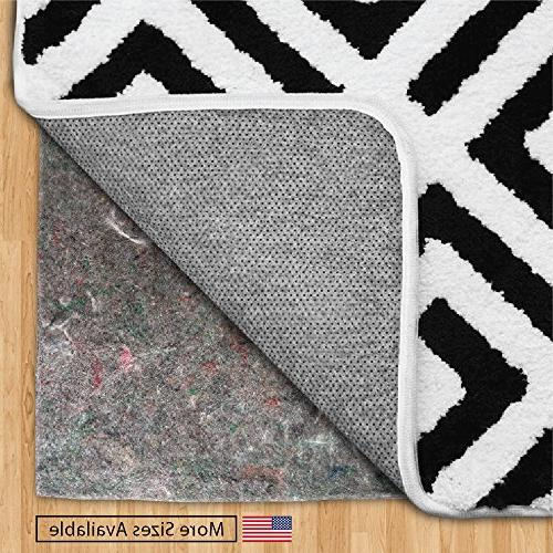Gorilla Original + Rubber Underside Area Rug Made Thick, for Hard Support for Rugs, Floors