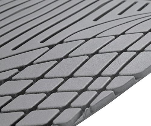 Motor Performance Mats HD Rubber for Car SUV Auto All Weather