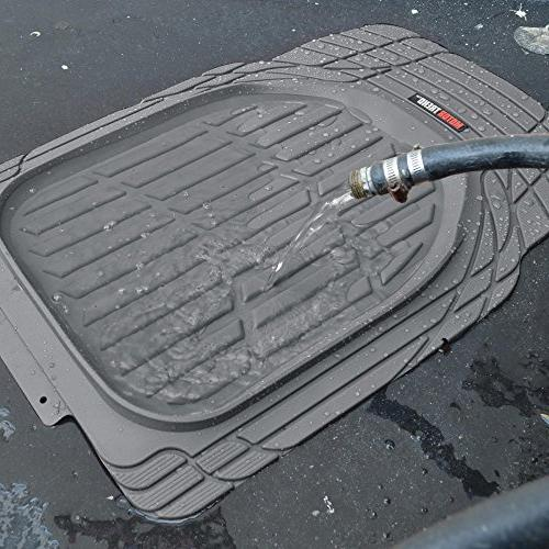 Liners - Heavy Deep Dish Rubber Mats in