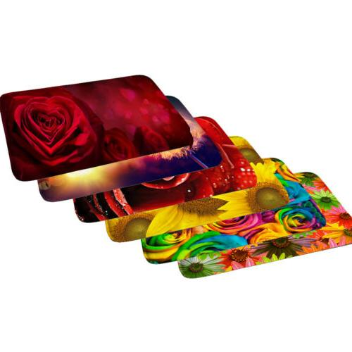 Floral Bathmat Room Doormat Waterabsorbing Soft Sink Rug Flo