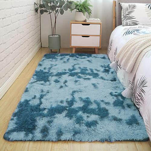 Fluffy Shaggy Tie-Dyed Floor for Bedroom / /Kids
