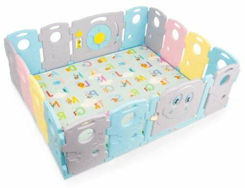 Folding Baby Play Mat Baby Non-Slip