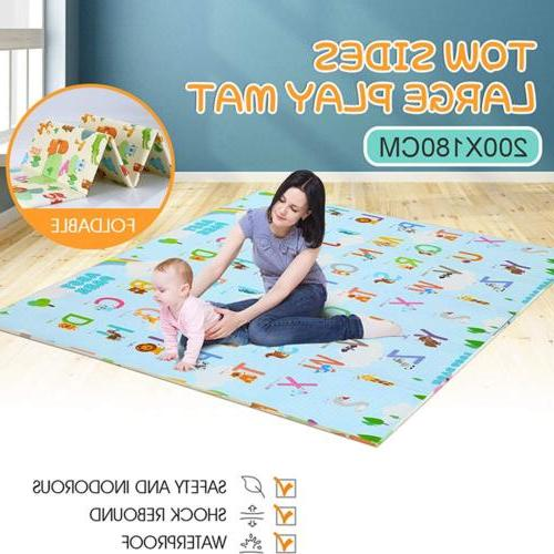 Folding Play Mat Non-Slip