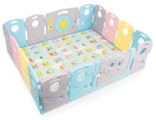 Folding Play Mat Baby Non-Slip