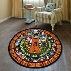 Dragon Ball Z Glass Circle Velboa Floor Rug Carpet Room Door
