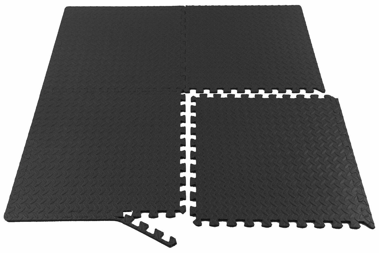 GYM RUBBER FLOORING Garage Home 24 Mat