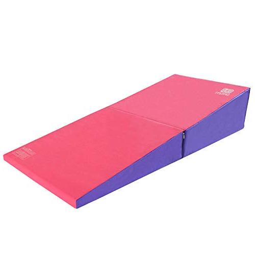 Modern-depo Gymnastics Wedge Mats Folding | Cheese Fastener, EPE Foam