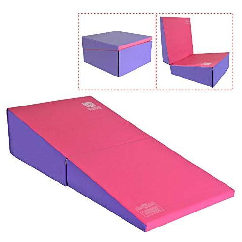 gymnastics wedge mats folding