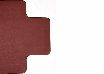 "Resilia- Desk Mat–Burgundy x 48"" Lip"