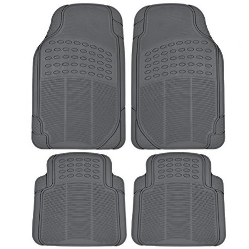 heavy duty 4pc front and rear rubber