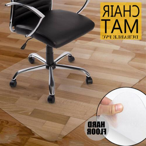 "48"" x 36"" Home Office Chair Mat for Floor Wood Under Executi"