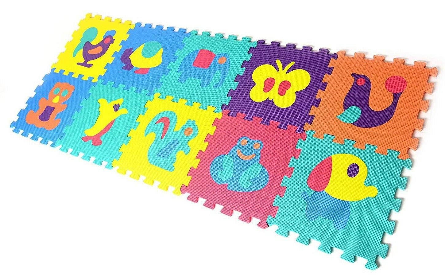 Kids Foam Floor Puzzle Play Mat Baby Crawling Gym Toddlers A