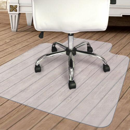 PVC Plastic Hard Wood Floor Mat Protector For Office Rolling