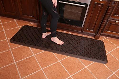 Fatigue Mat Floor Mats - Perfect kitchen Standing Desks, Non-Toxic, Material, x 70 inches,