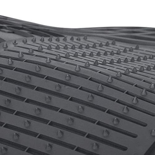 Motor Rubber Car Mats-Classic Square to Fit 100%