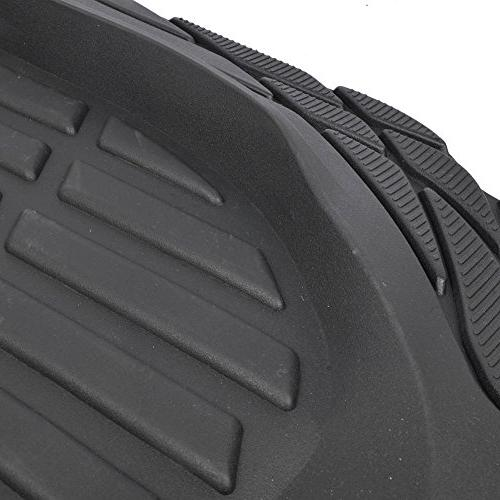Motor Trend Liners - Heavy Duty Rubber - Black