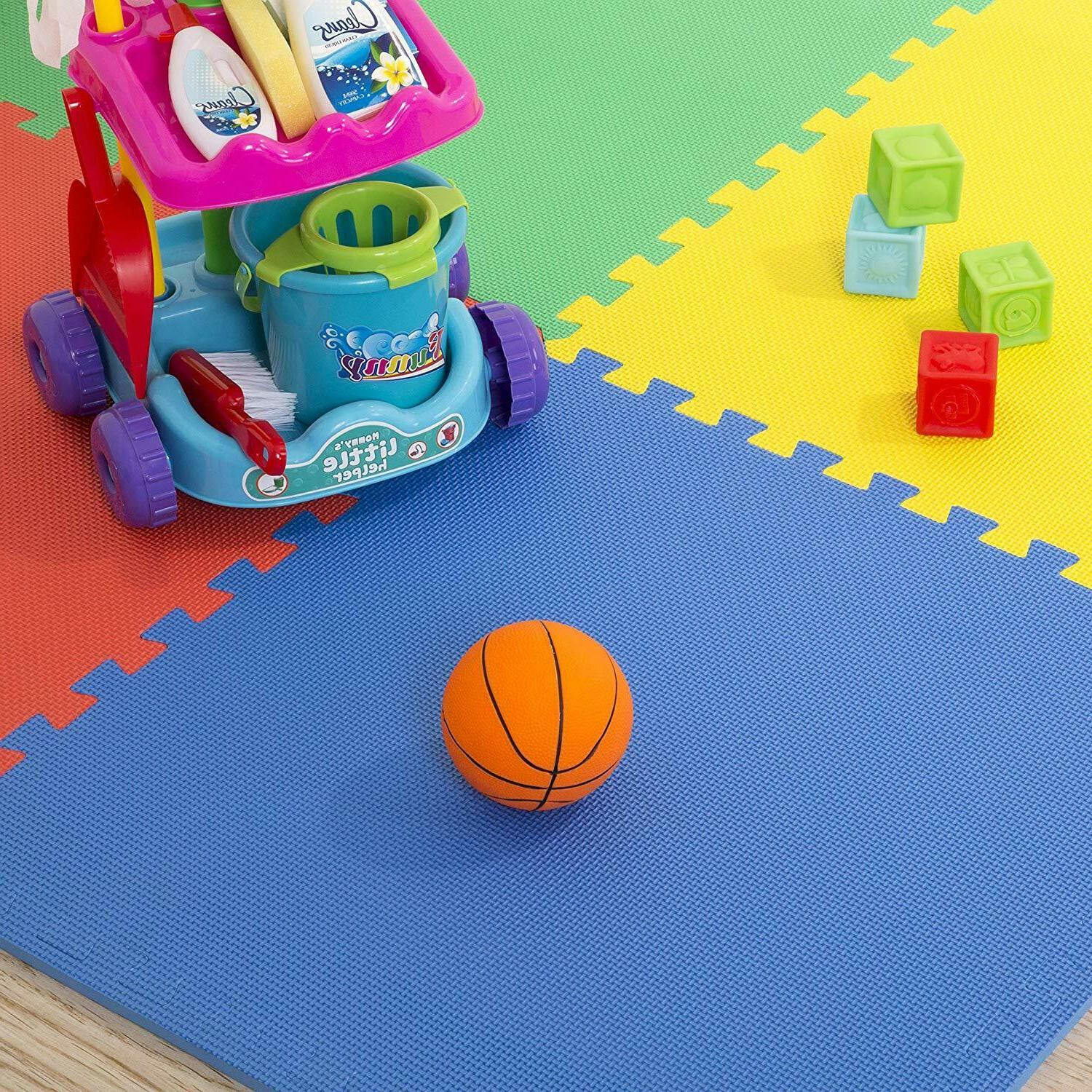 Multipurpose Exercise with Tiles,