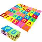 New Puzzle Mat 36 blocks Learning ABC Alphabet Study Kids Le