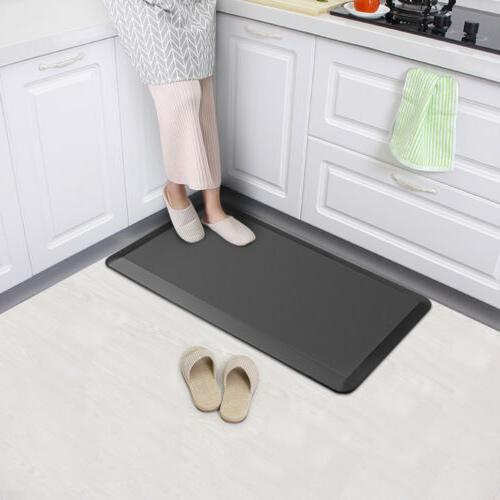 "Popular 3/4"" Thick Anti-Fatigue Floor Mat Comfort Memory Foa"