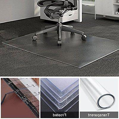 Office Chair Table Desk Mat for Hardwood Floor and Carpets 4