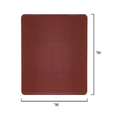 Resilia Desk Mat–Burgundy Rectangle floor Mat