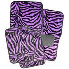 Oxgord Safari Purple Zebra Car Floor Mats