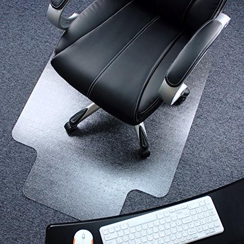 polycarbonate lipped chair mat