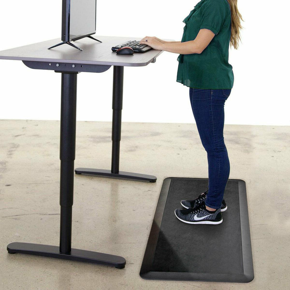 pvc anti fatigue standing mat office
