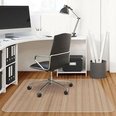 "47"" x 47"" PVC Chair Floor Mat Home Office Protector For Hard"
