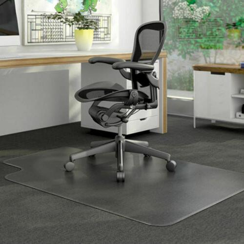 "PVC Matte Chair Floor Protector for Floors 48"" x 36"""