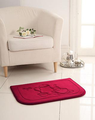 red coffee memory foam anti