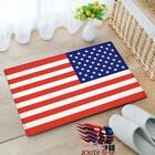 Retro US Flag Non-slip Rug Mats Room Carpet Door Mat Carpet