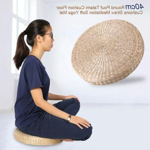 Round Cushion Pouf Meditation Seat Mat Pad