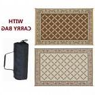 RV Outdoor Mat Rug Awning Floor Outside Reversible Patio Cam