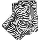 Safari Zebra Carpet Car Floor Mats