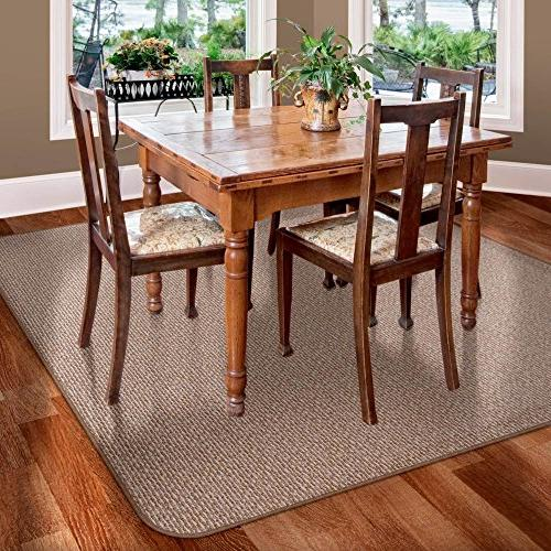 Skid-resistant Carpet Floor Mat - Praline Brown 8'
