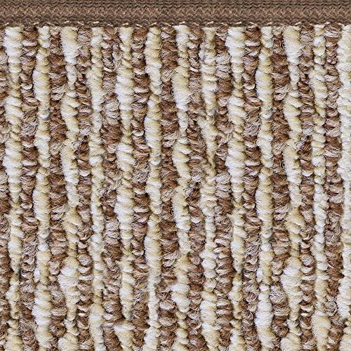 Skid-resistant Carpet Rug Floor Mat Brown - 8'