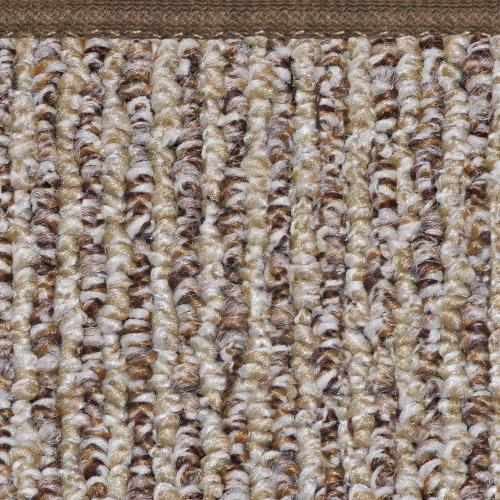 Skid-resistant Area Rug Floor Mat - Brown - 8'