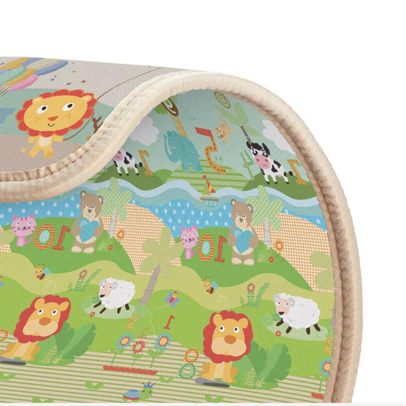 Soft Floor Mat Toddler Baby Puzzle Gym USA