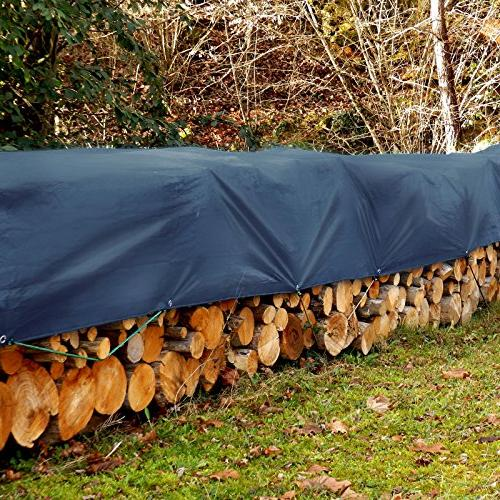 Tarps Medium | Ground Cover in | 6 oz/Sq Yd Blue - x 14'