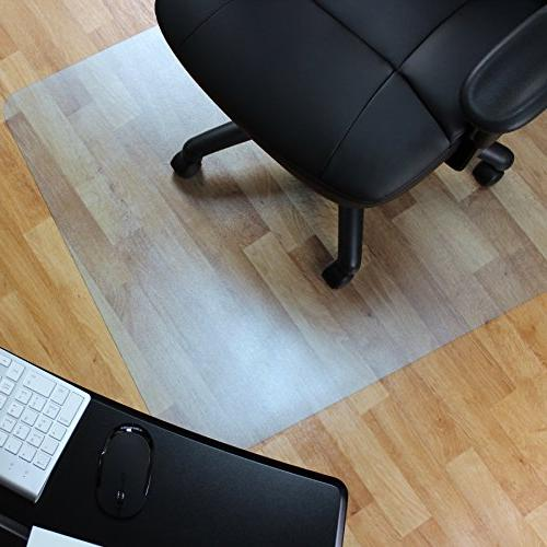vinyl rectangular chair mat