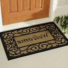 Welcome Door Mat Home Entrance Indoor Outdoor Non-Slip Floor